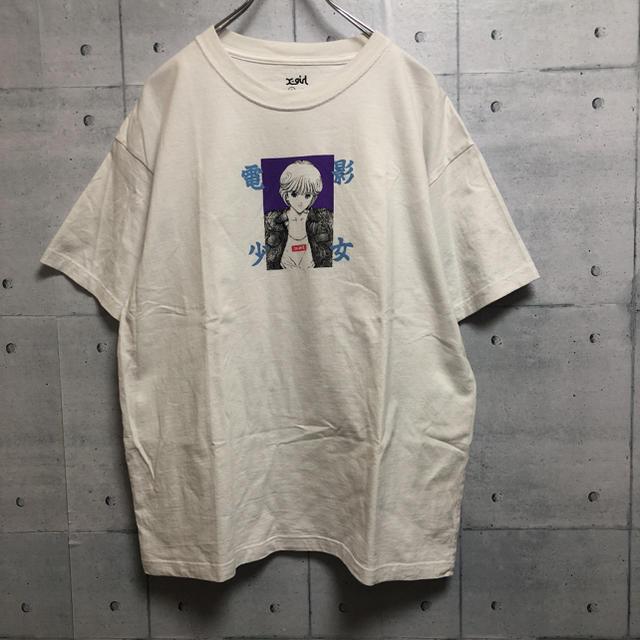 X-girl(エックスガール)のエックスガール  x-girl 電影少女 コラボ Tシャツ レディースのトップス(Tシャツ(半袖/袖なし))の商品写真
