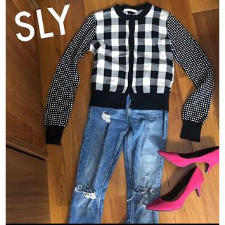 スライ(SLY)の【送料無料】SLY/カーディガン(カーディガン)