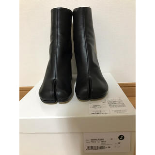 マルタンマルジェラ(Maison Martin Margiela)のMaison Margiela☆マルジェラ新品未使用黒ブーツ39サイズ(ブーツ)