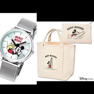 ミッキーマウス - SPRiNG スプリング 、ミニ 付録 セット ミッキー