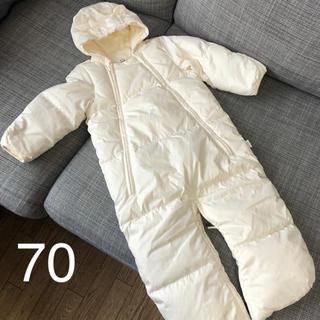 babyGAP - 美品 babyGAP ダウン ジャンプスーツ カバーオール 70