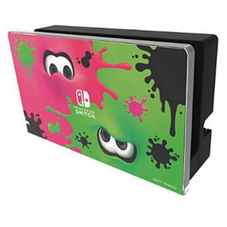 Nintendo Switch - ニンテンドースイッチ ドックカバー  スプラトゥーン2 ブラック