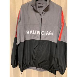 バレンシアガ(Balenciaga)のBALENCIAGA Logo-Print Jacket 44(ナイロンジャケット)