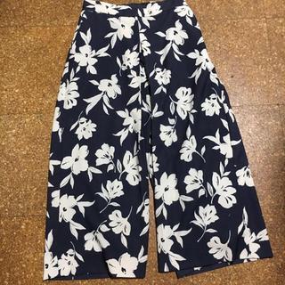 ミラオーウェン(Mila Owen)のミラオーウェン  mila owen 花柄 ワイドパンツ  ロングスカート (ロングスカート)