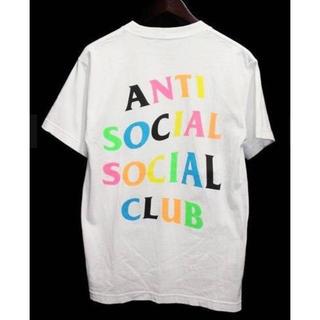 アンチ(ANTI)のASSC LOGO TEE   color:ホワイト  size:L(Tシャツ/カットソー(半袖/袖なし))