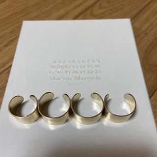 Maison Martin Margiela - Maison Martin Margiela rings gold 2個セット
