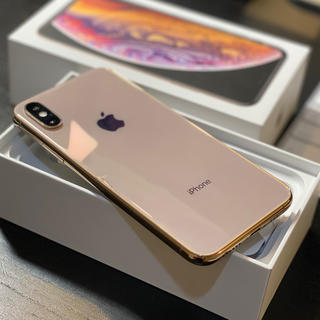 iPhone - iPhoneXS  256GB SIMフリー ゴールド MTE22J/A