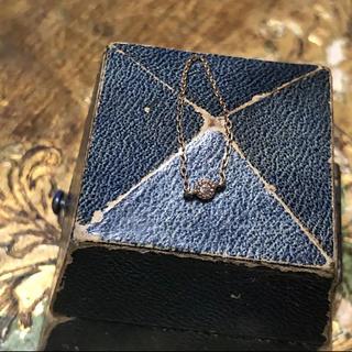 アガット(agete)のブラウンダイヤモンド チェーンリング 11号 k10(リング(指輪))