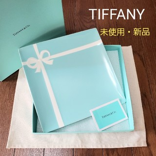 ティファニー(Tiffany & Co.)の★ ティファニー リボン スクエア 大皿 未使用 ★(食器)