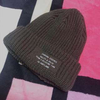 ローリーズファーム(LOWRYS FARM)のローリーズファーム LOWRYS FARM ニット帽 帽子 ロゴ(ニット帽/ビーニー)