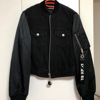 ディーゼル(DIESEL)のディーゼル ブルゾン アウター ジャケット タグ付き 未着用 黒(ブルゾン)