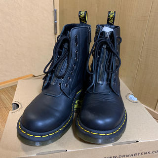 ドクターマーチン(Dr.Martens)のUK6 ドクターマーチン zipホールブーツ(ブーツ)