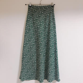 LOWRYS FARM - ローリーズファーム 花柄スカート