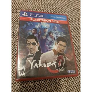 PlayStation4 - 【未開封新品】龍が如く0 yakuza 0