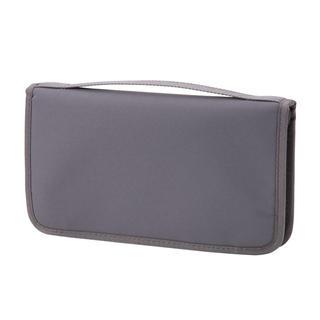MUJI (無印良品) - 新品   無印良品  ポリエステルパスポートケース・クリアポケット付