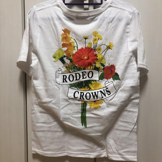 RODEO CROWNS - 花柄Tシャツ