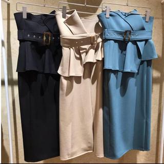 snidel - snidel ハイウェストポンチタイトスカート