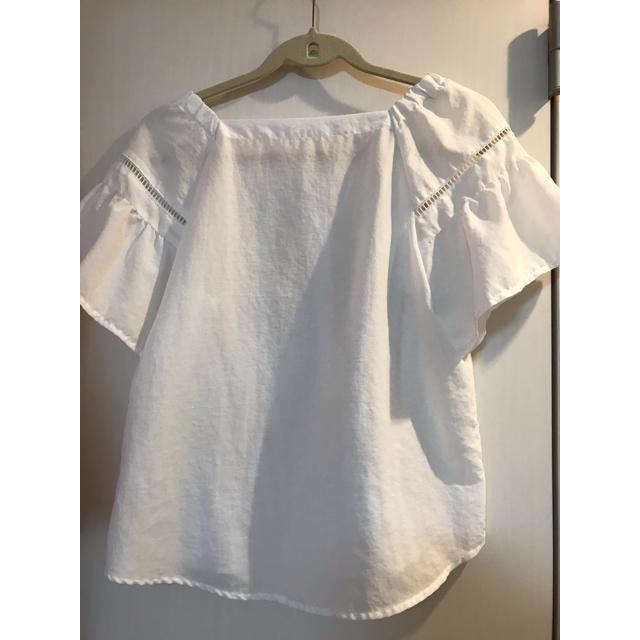 GU(ジーユー)のGU 夏服 トップス レディースのトップス(シャツ/ブラウス(半袖/袖なし))の商品写真
