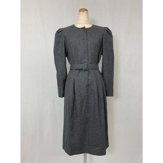●S430 used wool one piece(ロングワンピース/マキシワンピース)