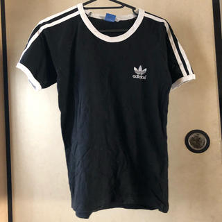 adidas - adidas Originals Mサイズ 黒Tシャツ