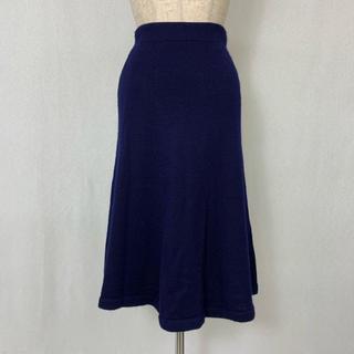 ●S431 used knit skirt(ロングスカート)