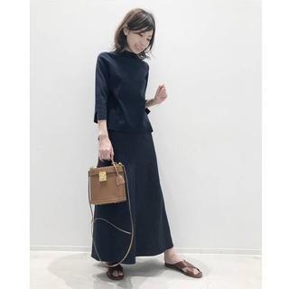 L'Appartement DEUXIEME CLASSE - ★美品 アパルトモン Punch Flare スカート ネイビー 34★