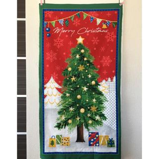 クリスマスタペストリー*壁に飾るクリスマスパネル生地