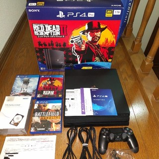PlayStation4 - プレイステーション4pro ソフト同梱版