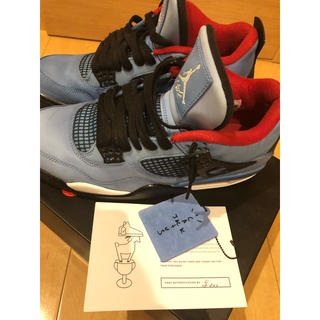 NIKE - Air Jordan 4 Retro Travis Scott 28.5