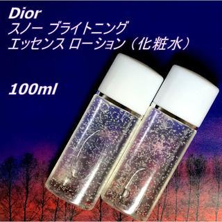 ディオール(Dior)の100ml★ Dior スノー ブライトニング エッセンス ローション Dior(化粧水 / ローション)