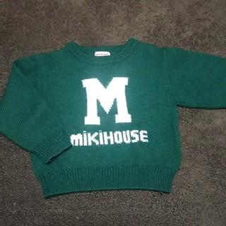 ミキハウス(mikihouse)のミキハウス ロゴ セーター 100(ニット)