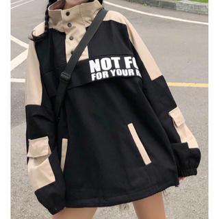 フォロワー様限定♡秋の韓国ファッション♡アメカジ♡オーバーサイズアウター(ブルゾン)