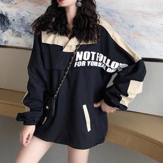 秋の新作♡韓国ファッション♡オーバーサイズアウター(ブルゾン)