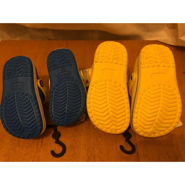 お値下げ ミニオン サンダル  キッズ/ベビー/マタニティのキッズ靴/シューズ (15cm~)(サンダル)の商品写真