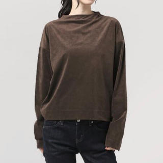 BEAUTY&YOUTH UNITED ARROWS - 【超美品】ユナイテッドアローズ スウェード調 カットソー