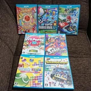 ウィーユー(Wii U)の7点 Wii U ソフト (家庭用ゲームソフト)