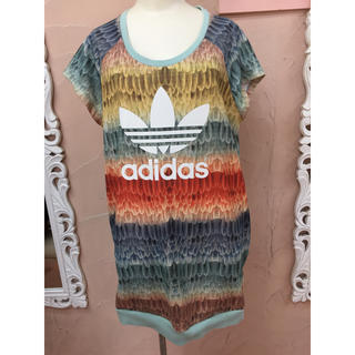 アディダス(adidas)のアディダス 鳥の羽 ビックT(Tシャツ(半袖/袖なし))