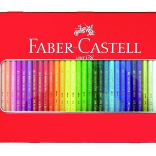 【新品未使用】ファーバーカステル 水彩色鉛筆 平缶 36色セット