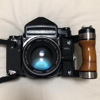 PENTAX - PENTAX67 TTL  レンズ・付属品付き