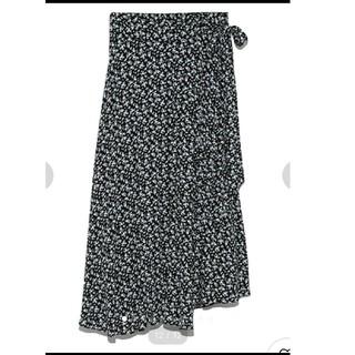 ミラオーウェン(Mila Owen)のミラオーウェン☆ラウンドヘム巻きスカート(ロングスカート)