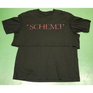 ジョンローレンスサリバン(JOHN LAWRENCE SULLIVAN)のジョンローレンスサリバン 18SS レイヤードTシャツ 黒 赤 ブラック レッド(Tシャツ/カットソー(半袖/袖なし))