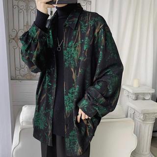 ハイデザインシャツジャケット(ブルゾン)