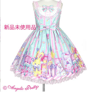 Angelic Pretty - 新品未使用タグ付き☆ Toy Doll Box ミント jsk