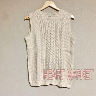 ハートマーケット(Heart Market)の【未使用】HEART MARKET  ニットベスト L(ニット/セーター)