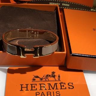 Hermes - HERMES ブレスレット クリックH ゴールド