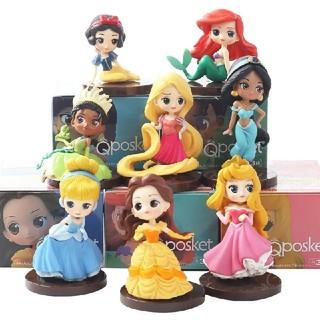 Disney - ♥Q Posket ディズニープリンセス 8体コンプリートセット