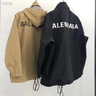 バレンシアガ(Balenciaga)のBALENCIAGA バレンシアガ トラックジャケット ブラック(パーカー)