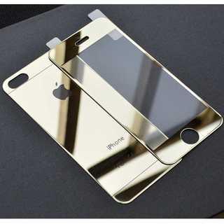 iPhone6/6s ゴールド 前後 強化ガラスフィルム Quick Charg