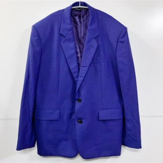 JOHN LAWRENCE SULLIVAN - ジョンローレンスサリバン 18SS ジャケット グレンチェック ネイビー 紫