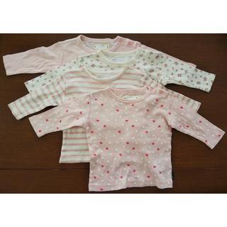 ベルメゾン(ベルメゾン)の長袖シャツ ロンT サイズ70 4枚セット(シャツ/カットソー)